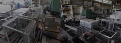自動機・省力化機械 受託製造における製缶板金品