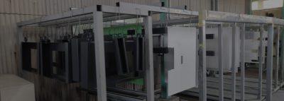 自動機・省力化機械 受託製造における表面処理